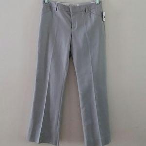 GAP Women's Perfect Trouser Gray Ankle Pants 6 A